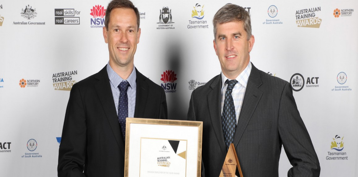 North wins Medium Employer of the Year award at national level