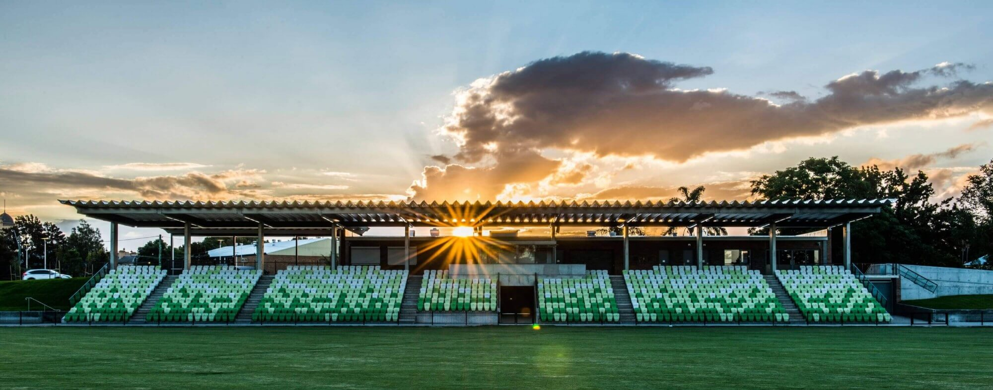 Sporting ground construction completed